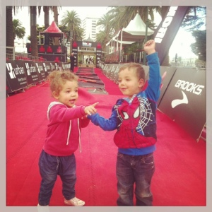 Future Ironman and woman in the making